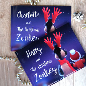 Personalised Christmas Story Book - toys & games