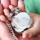 Grandads Time Is Special Time Personalised Pocket Watch