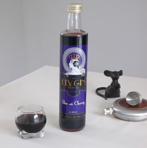 Sloe Gin With Cherry - gin