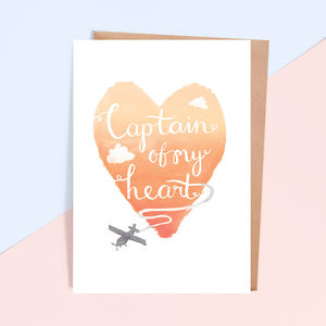 'Captain' Valentine's Day Card