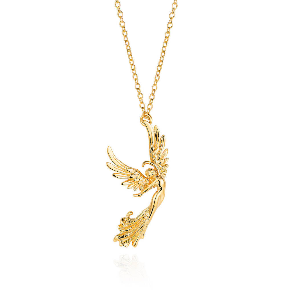 Golden angel of grace necklace by joy everley notonthehighstreet small golden angel of grace aloadofball Choice Image