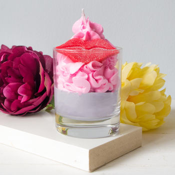 Hot Lips Artisan Soy Wax Candle