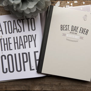 'Best Day Ever' Wedding Guest Book
