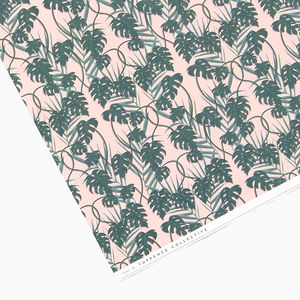 Tropical Pink Wrapping Paper