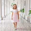 Girls French Designer Special Occasion Dress