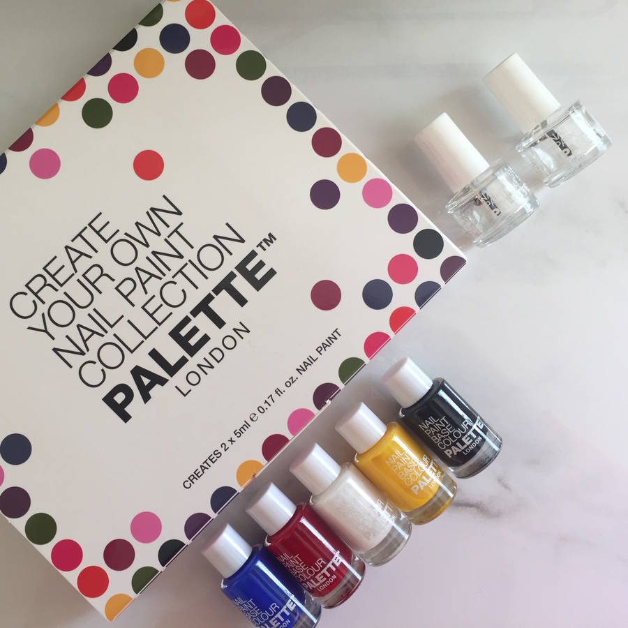 create your own nail polish set 2pc by palette london ...