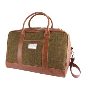 Harris Tweed Holdall - bags & purses