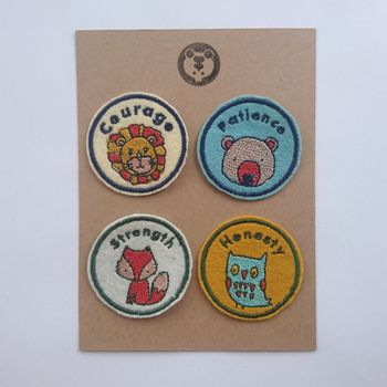 Embroideerd Merit Patches