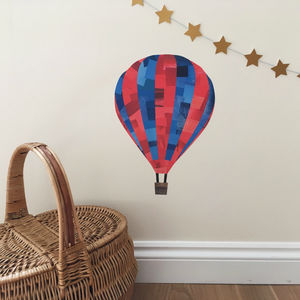 Hot Air Balloon Wall Sticker