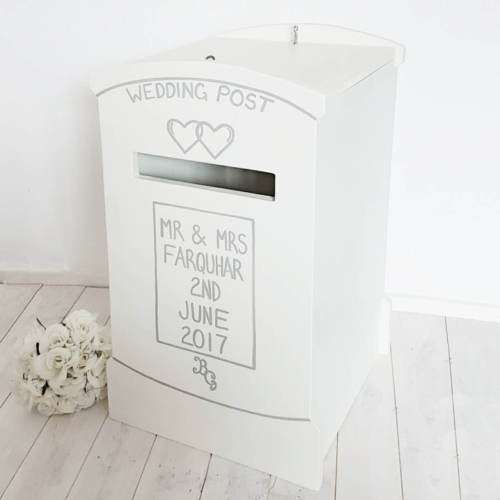Wedding Post and Card Boxes – Round Wedding Card Box