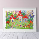 Flower Fairies Print - Bright