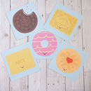 Biscuit Selection Pack Of Five Greetings Cards