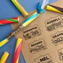 Personalised Crazy Flavours Sticks Of Rock
