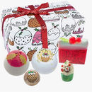 Christmas Bath Bombs And Luxury Soap Gift Set