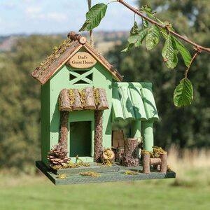 Hill Top Personalised Cabin Bird House