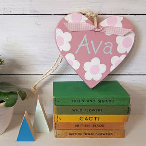 Daisy Heart - door plaques & signs