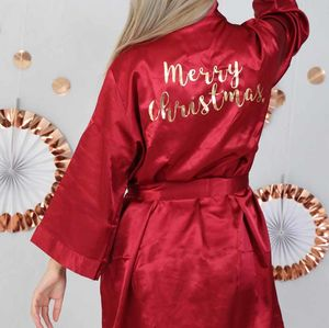 Merry Christmas Dressing Gown Robe