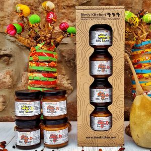 African Inspired Bbq Gift Set - sauces & seasonings