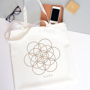 'Flower Of Life' Tote Bag