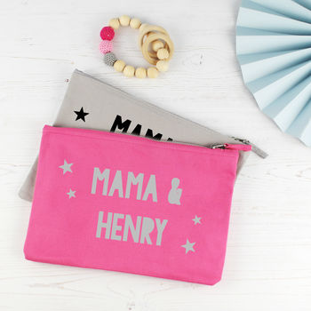 Personalised Mama Baby Changing Travel Bag