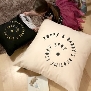Story Time Spot Giant Floor Cushion - floor cushions & beanbags