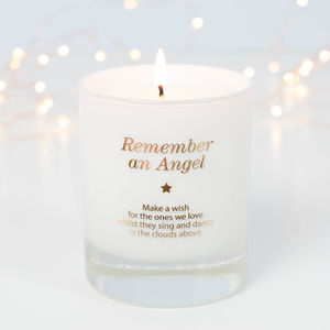 Make A Wish To Remember An Angel Candle