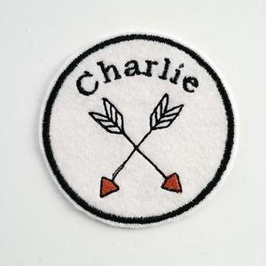 Custom Embroidered Patch 'Arrows'