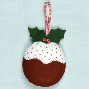 Christmas Felt Craft Mini Kits - tree decorations