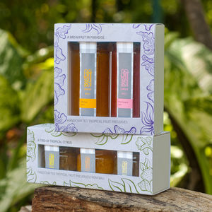 Tropical Citrus And Exotic Breakfast Jam Two Gift Sets - memorable client gifts