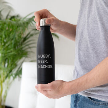 Personalised Metal Water Bottle For Men