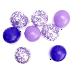 Purple Mix Party Balloons