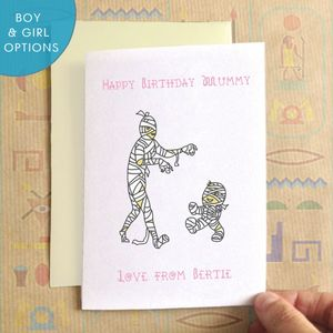 Personalised Mummies Birthday Card - mother's day cards & wrap