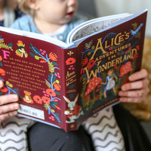 Fully Illustrated Alices Adventures In Wonderland - books