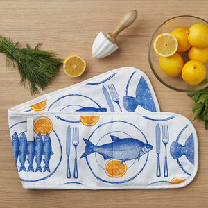 Fish Supper Oven Glove - new in home