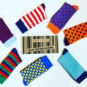 Sock Subscription - 50th birthday gifts