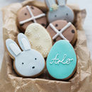 Personalised Spring Biscuit Gift Set