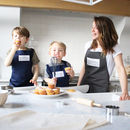 'The Surname Kitchen' Parent And Child Matching Aprons