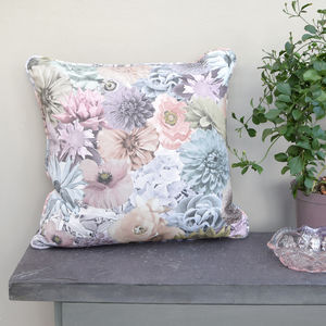 Floral Photography Handmade Cushion