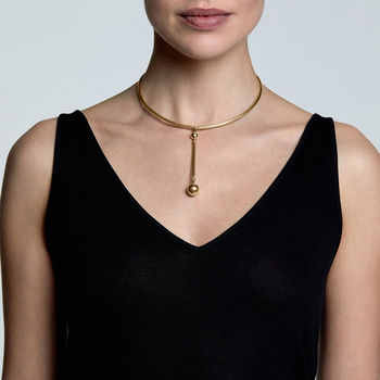 18ct Gold Vermeil Ori Necklace