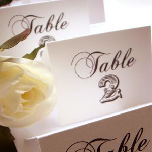 Lydia Name Cards Or Table Numbers
