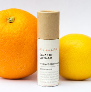 Organic Soil Association Certified Lipbalm