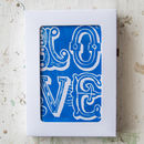 Spread The Love Linoprint Cards Boxed Set Of Six