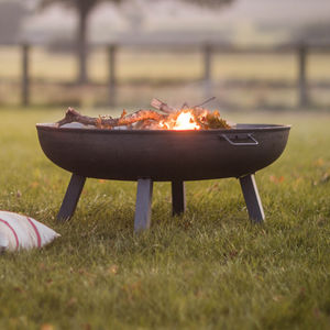 Raw Steel Fire Pit - fire pits & outdoor heating