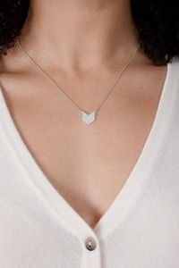 Art Deco Arrow Pendant - necklaces & pendants