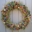 Luxury Winter Berry Wreath For Home Wall Door