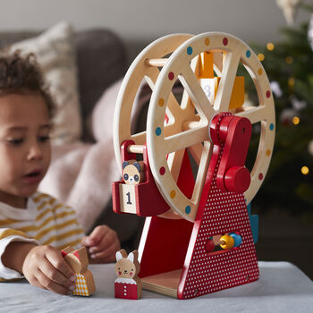 Wooden Ferris Wheel / Carnival Toy