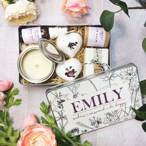 Personalised 'Be Happy' Deluxe Spa Pamper Kit - gift sets