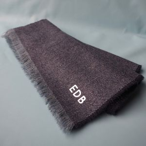 Monogrammed Lambswool Scarf - new gifts for him