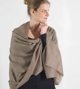 Luxurious Cashmere Scarf Classic Colours - pashminas & wraps