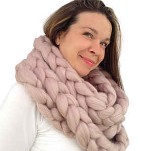 Scarf Knitting Kit - creative kits & experiences